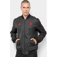079a0aa1975 Netshoes  Jaqueta Manchester United Adidas Hino Masculina - Masculino