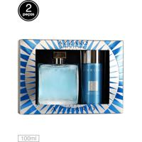 Kit Perfume Chrome Azzaro 100Ml