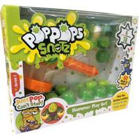 Conjunto De Mini Figuras - Poppops Slime Monster Snotz - 18 Cápsulas - Multikids