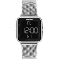 Relógio Digital Mormaii Digi Prata Mo6600Ak/7K Feminino - Feminino