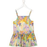 Stella Mccartney Kids Blusa Com Estampa Floral Abstrata - Amarelo