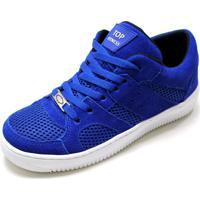 db90f456fd7 Tenis Casual Conforto Top Fitness Lançamento Promoção Azul