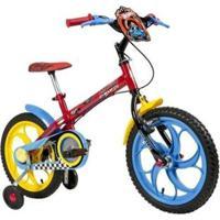 Bicicleta Infantil Caloi Hot Wheels Aro 16 - Unissex