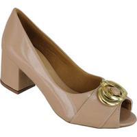 Sapato Peeptoe C Fivela Di Santinni 61110025