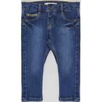 Calça Jeans Infantil Skinny Azul Escuro