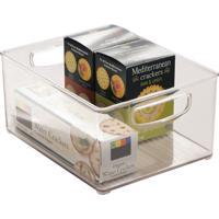 Organizador Cozinha Plastico Transparente 20X25X12,5Cm