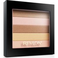 Blush Revlon Highlighting Palette Peach Glow Coral