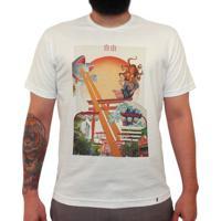 Liberdade Fields Forever - Camiseta Clássica Masculina
