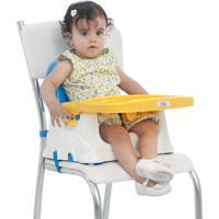 Cadeira Cadeirinha Alimentação Bebê Portátil Baby Style Azul