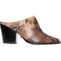 Sapato Feminino Snake Honey - Animal Print