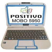 Netbook Positivo Mobo 5950 2Gb De Ram, Hd De 500Gb Tela De 10.1 Lcd Linux - Branco
