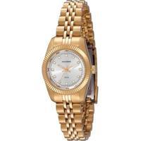 Relógio Mondaine Clássico 94086Lpmtds3 Feminino - Feminino-Dourado