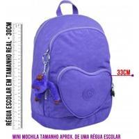 Mini Mochila Kipling Heart Backpack - 2108627G