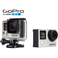 Câmera Digital E Filmadora Gopro Hero4 Black Edition Adventure Chdhx-401-Br Cinza 12Mp, Wi-Fi, Bluetooth, Lente Grande Angular Imersiva E Vídeo 4K