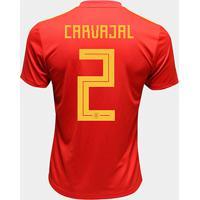 Camisa Seleção Espanha Away 2018 N° 2 Carvajal - Torcedor Adidas Masculina - Masculino