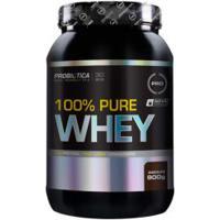 Whey Protein Concentrado Probiótica 100% Pure Whey - Chocolate - 900G