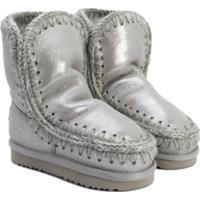Mou Kids Ankle Boot De Neve 'Eski' - Cinza