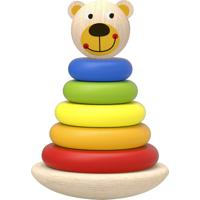 Urso Torre De Blocos De Montar Brinquedo Educativo Tooky Toy