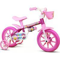 Bicicleta Flower Aro 12 - Nathor - Feminino