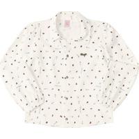 Camisa Inseto- Off White & Pretalilica Ripilica E Tigor T. Tigre