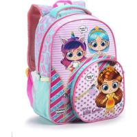 Mochila Infantil Hey Little Girls - Feminino-Rosa+Pink