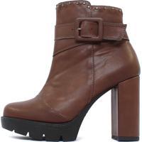 Bota Damannu Shoes Jolie Marrom