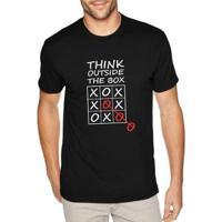 Camiseta Think Outside The Box Masculina - Masculino