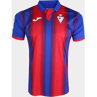 Camisa Eibar Home 19/20 S/Nº Torcedor Joma Masculina - Masculino