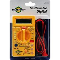 Multímetro Digital Brasfort Dt830B Amarelo
