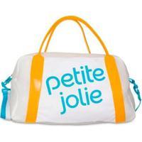 Mala Petite Jolie Marci Pj4684 Feminina - Feminino-Branco+Amarelo