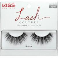 Cílios Postiços Kiss Ny Lash Couture - Boudoir 1Un - Feminino-Incolor