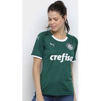 Camisa Palmeiras I 19/20 S/N° - Torcedor Puma Feminina - Feminino