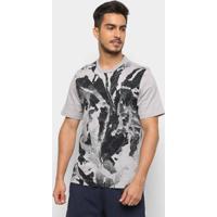 Camiseta Adidas Masculina - Masculino-Preto