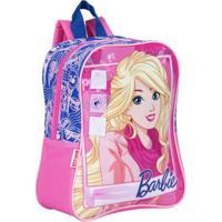 Mochila Infantil Barbie 18M - Feminino-Rosa