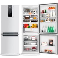 Refrigerador   Geladeira Brastemp Frost Free 2 Portas 460 Litros Branca - Bre59Ab