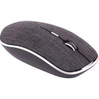 Mouse Twill- Preto- 7,5X3,5X12,5Cm- Bluetooth