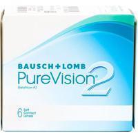 Lente De Contato Pure Vision 2 Incolor -7,50 Incolor