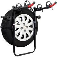 Suporte Veicular Altmayer Al-246 Para Estepe Porta Malas Transbike 2 Bicicletas Preto
