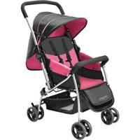Carrinho De Bebê Multikids Flip - Unissex-Rosa