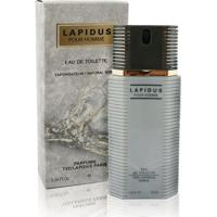 Perfume Lapidus Pour Homme Masculino Ted Lapidus Edt 100Ml - Masculino-Incolor