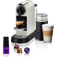 Máquina De Café Nespresso Citiz D113 Branco Com Aeroccino 3 220V