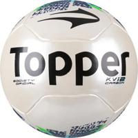 6b2ee98c7d Netshoes  Bola Futebol Society Topper Kv Carbon League 2 Oficial - Unissex