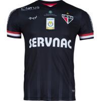 Camisa Do Ferroviário Iii 2019 Nº 10 Bm9 - Masculina - Preto/Vermelho