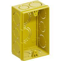 Caixa De Embutir 2X4 Amarela - Tigre - Tigre