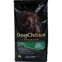 Ração Dog Choice Premium Adulto Carne/Cereal/Vegetais 3Kg