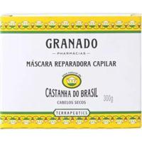 Máscara Reparadora Capilar Granado - Castanha Do Brasil 300G - Unissex-Incolor