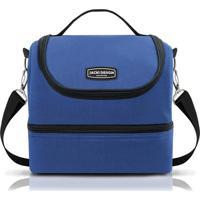 Bolsa Térmica Com 2 Compartimentos Jacki Design Ahl16017 Azul