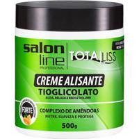 Creme Alisante Salon Line - Total Liss Forte Pote - 500Gr - Unissex-Incolor
