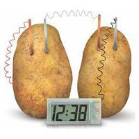 Relógio Kidz Labs 4M Batata - Branco
