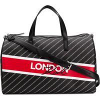 Karl Lagerfeld Bolsa City Weekender London - Preto